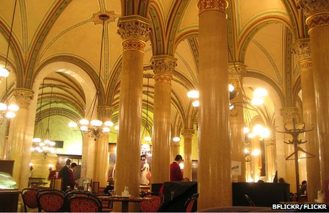 Both Trotsky and Hitler sipped coffee under Cafe Central's magnificent arches...