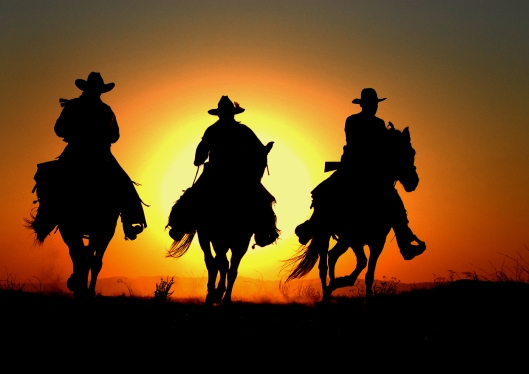 C_-_EID_Open____THREE_COWBOY_SIHOUETTE___by_Larry_Cowles