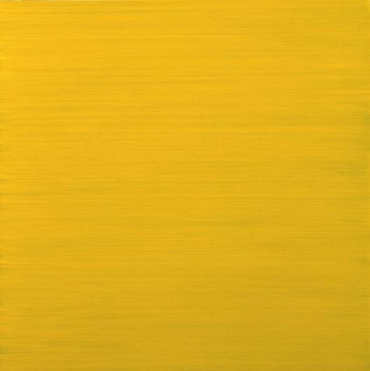 History Painting 42 C20th. Winsor Yellow 1995 by Maria Lalic born 1952