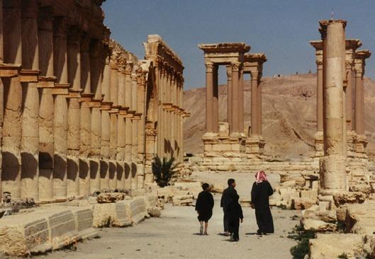 Palmyra ruins in Syria